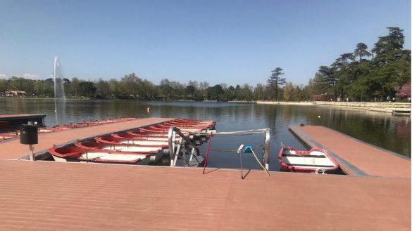 Las barcas del Retiro y Casa de Campo se van a poder reservar por medio de una aplicación