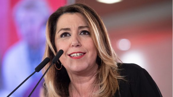 Susana Díaz 'imita' a Ayuso en su campaña para las primarias del Partido Socialista Obrero Español andaluz