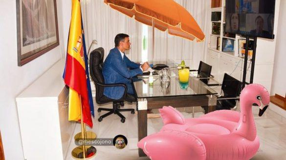 Los mejores memes sobre las alpargatas de Pedro Sánchez