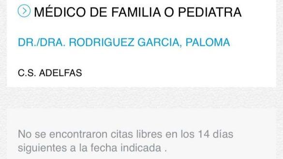"""Vecinos de Adelfas, en el Retiro, demandan un """"servicio pediátrico de calidad"""" ante la carencia de personal"""